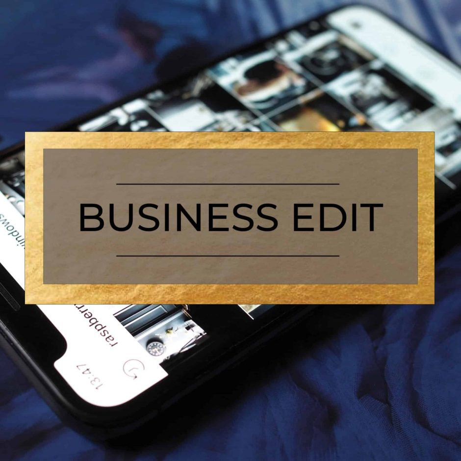 The Business Edit