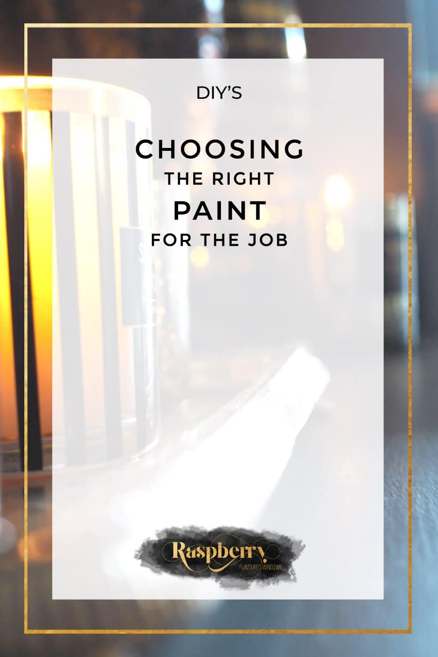 Choosing The Right Paint for The Job