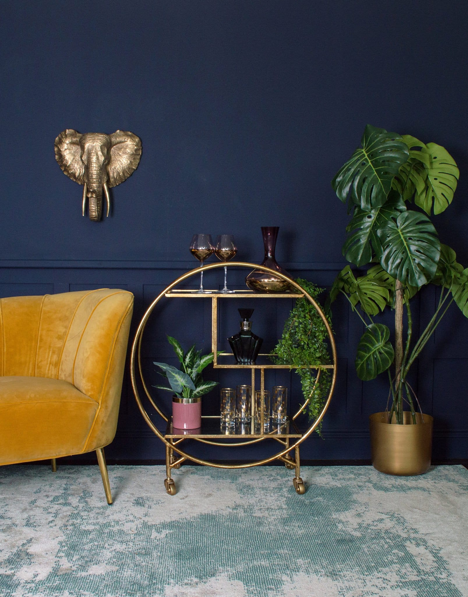 My Interior Design Trend Predictions For 2019 - Bar Carts