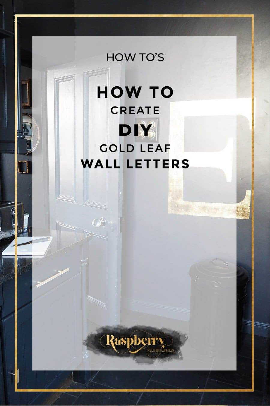 Gold Wall Letters
