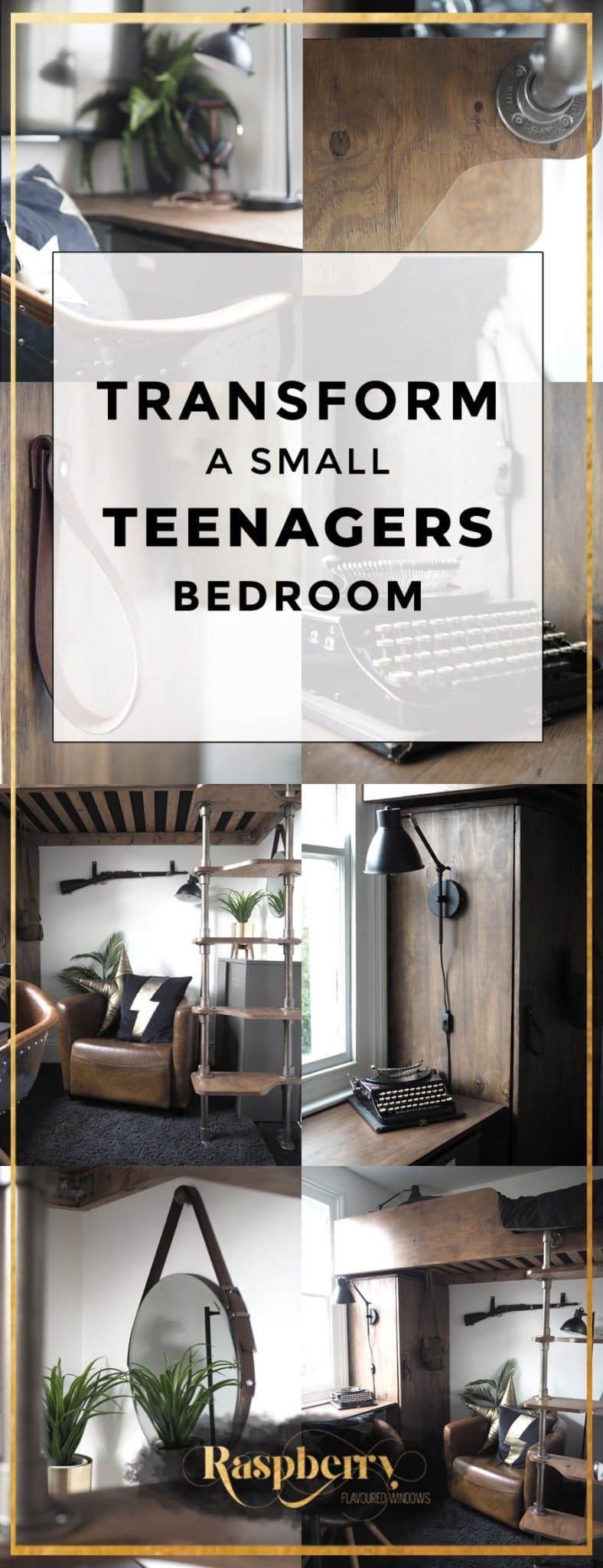 Make The Most Of A Small Teenagers Bedroom