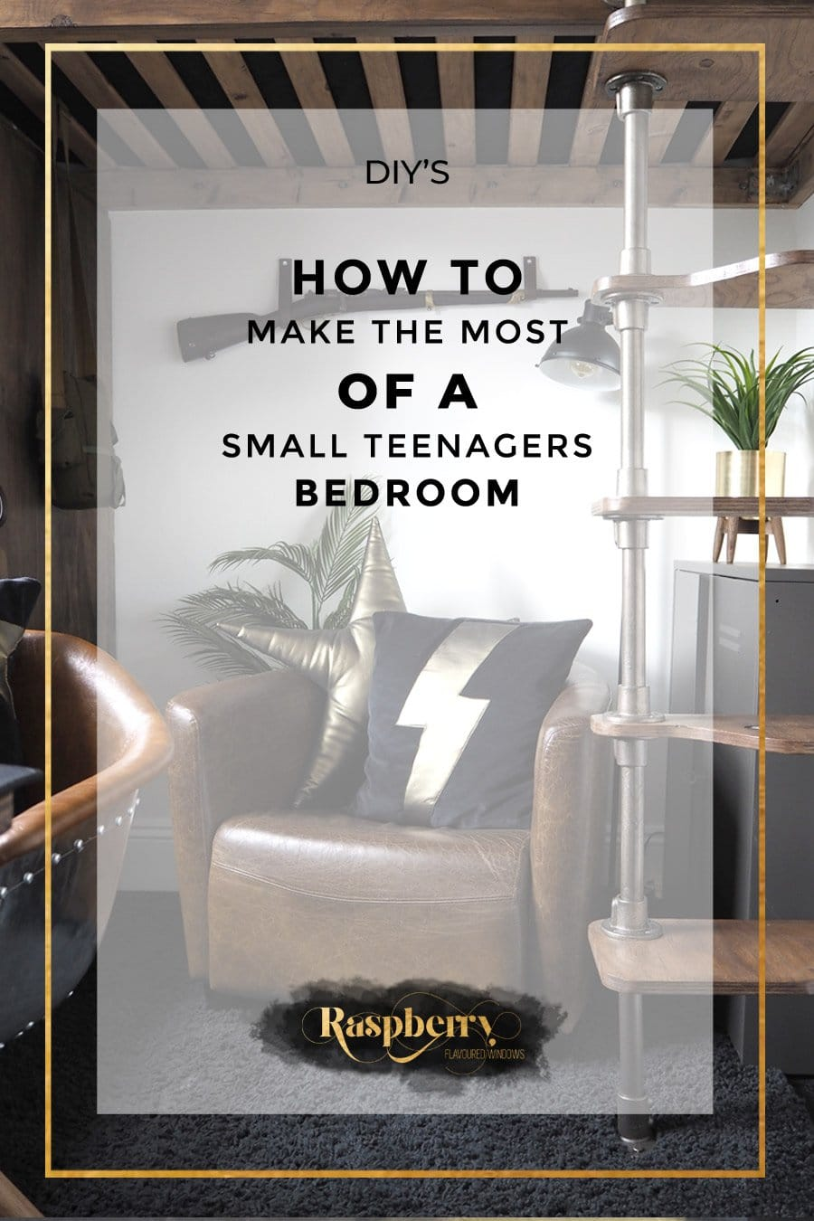 How to make the post of a small teenagers bedroom