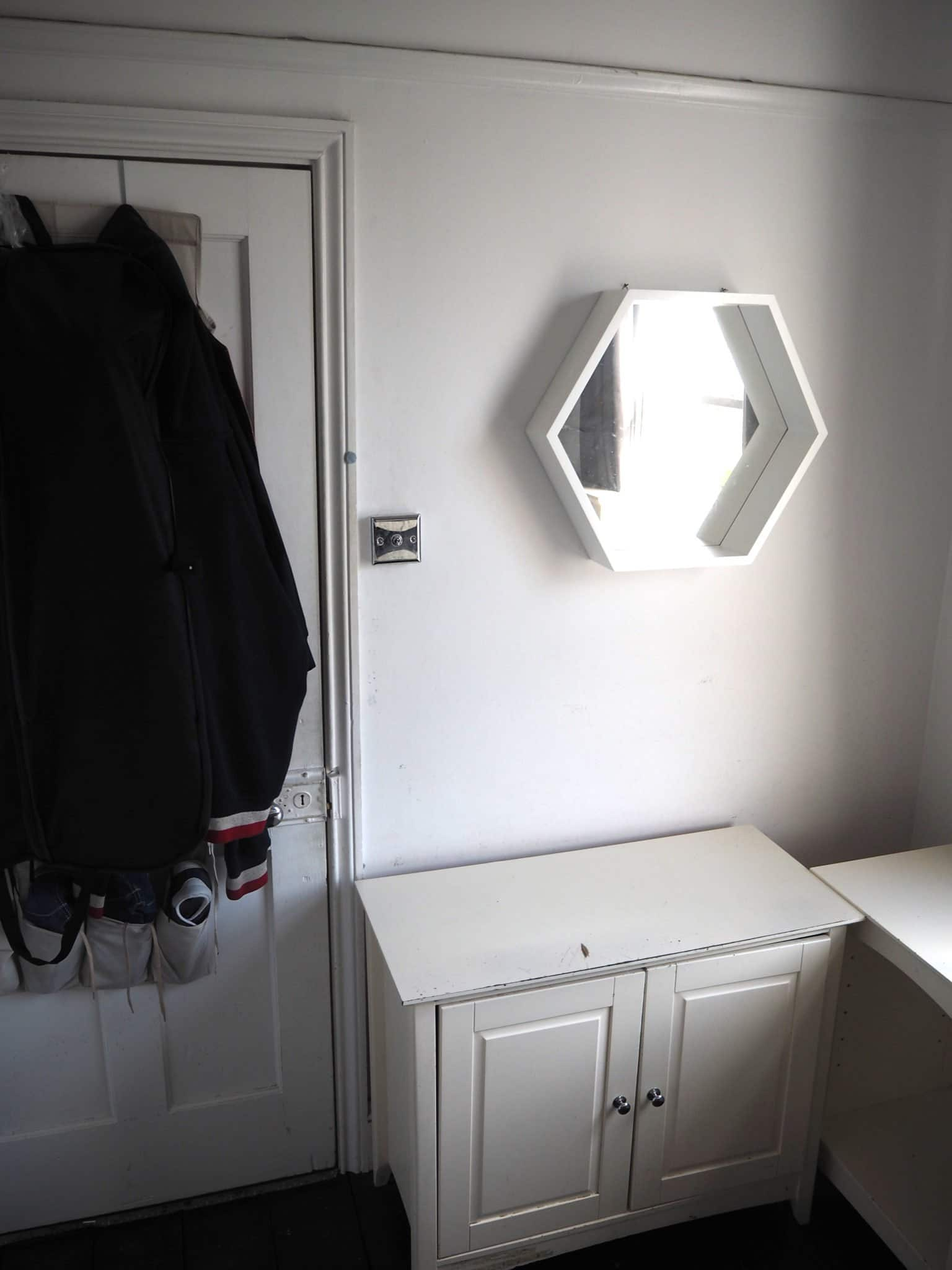 Small Teenagers bedroom reveal Before
