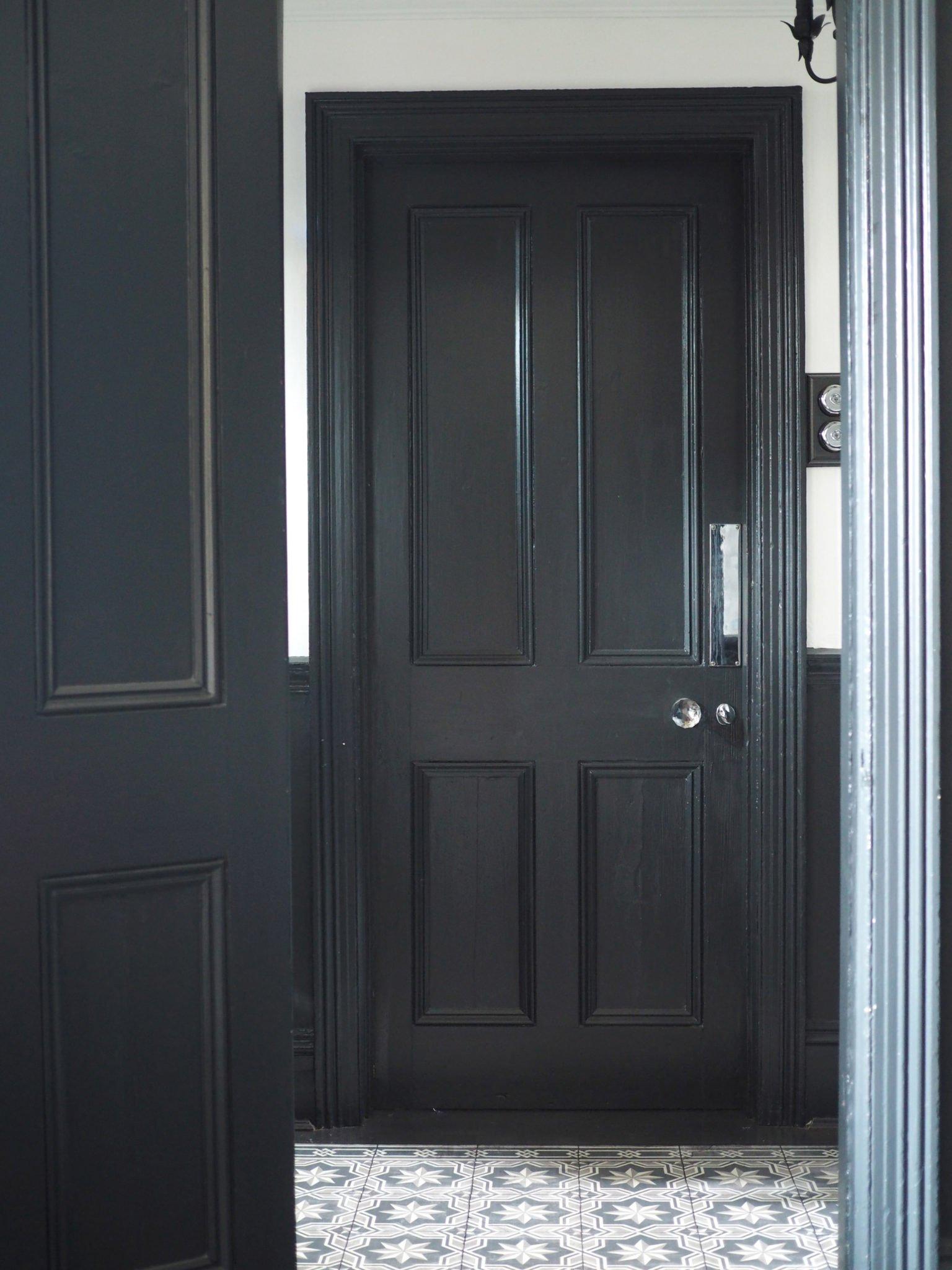 My Monochrome Hallway reveal