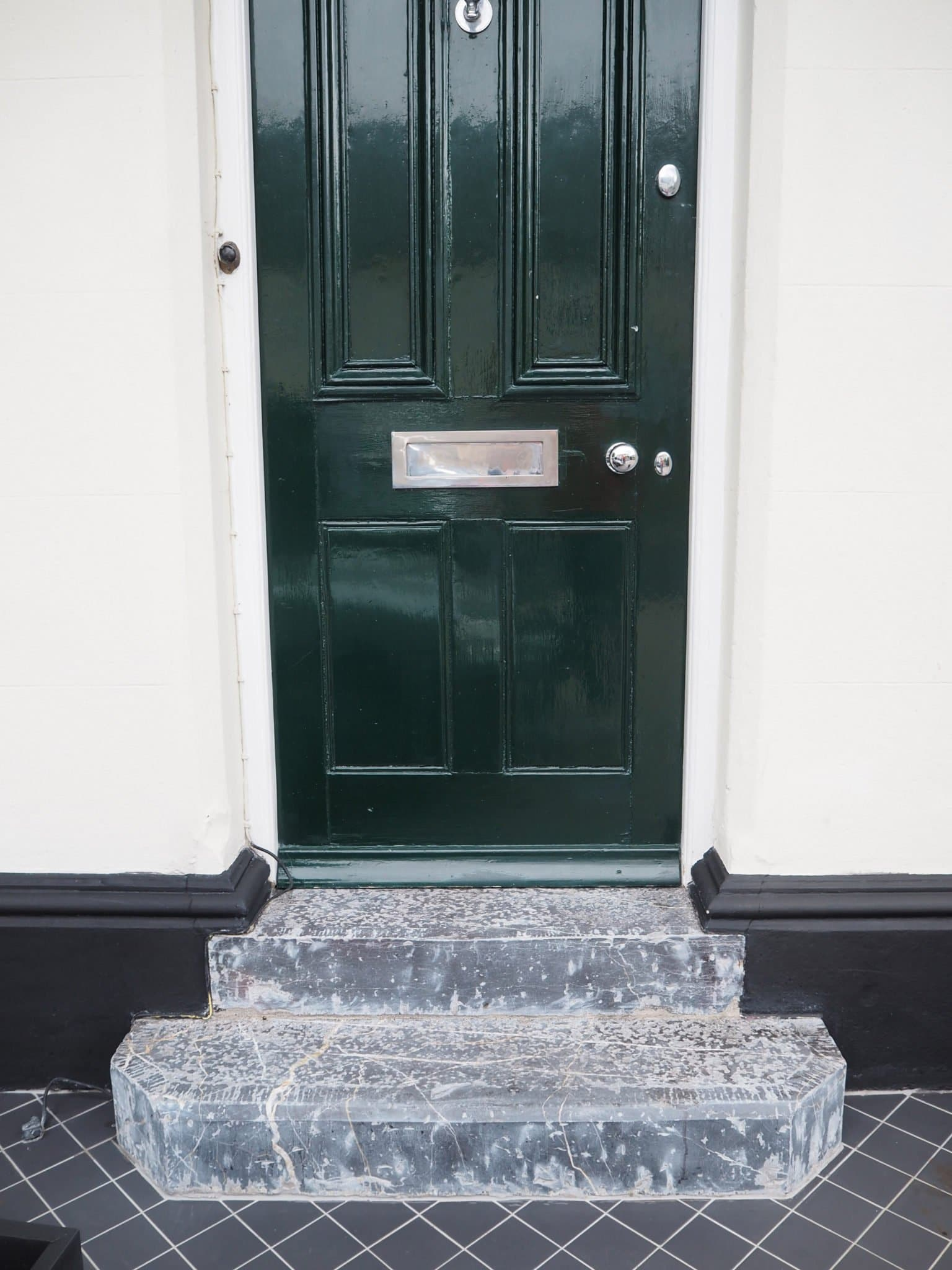 The steps after resurfacing and polishing