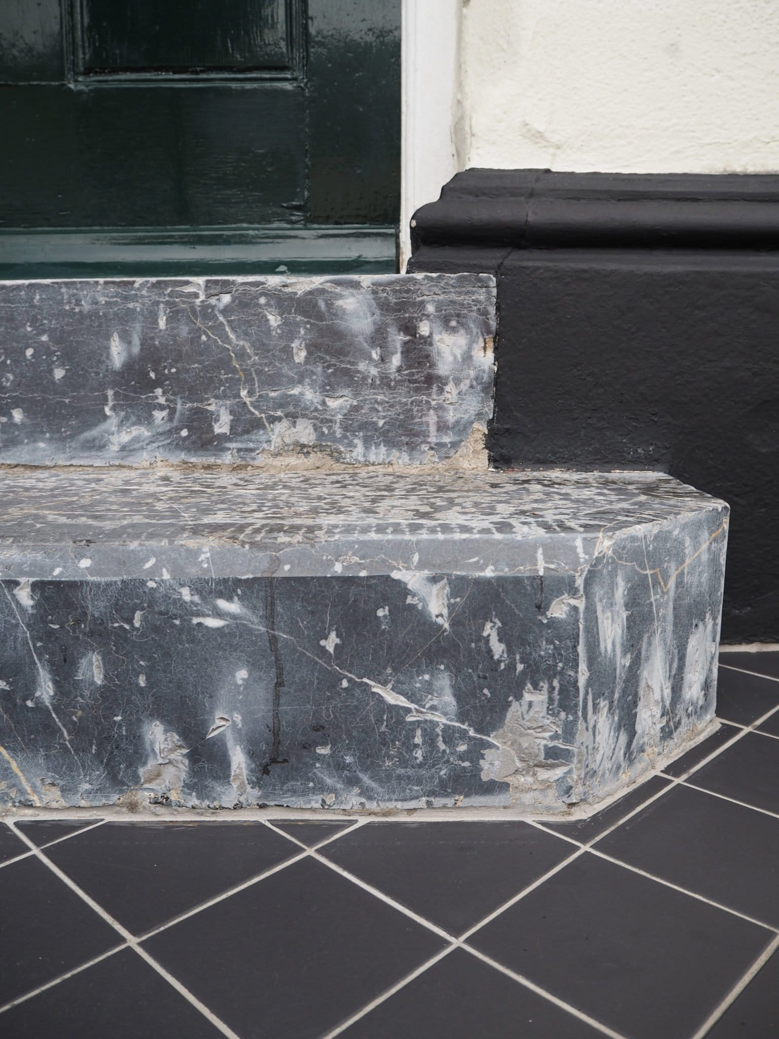 how to bring old limestone or marble back to life