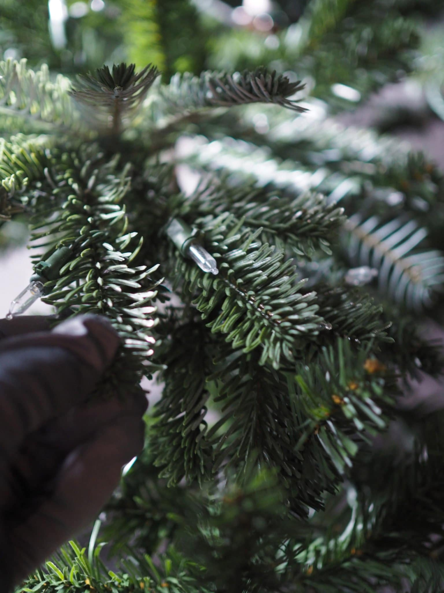 How To Dress An Artificial Christmas Tree Like A Pro