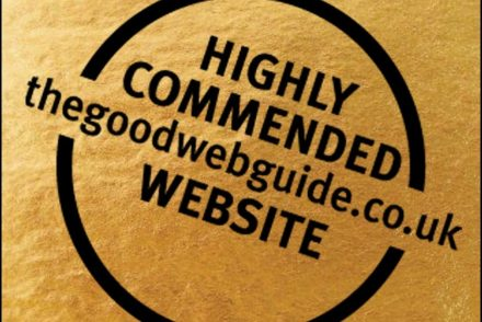 Highly Commended in The Good Web Guide Awards 2019