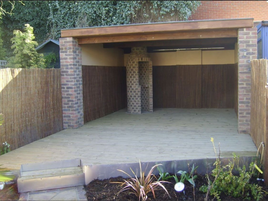 A garden room Transformation- The Before