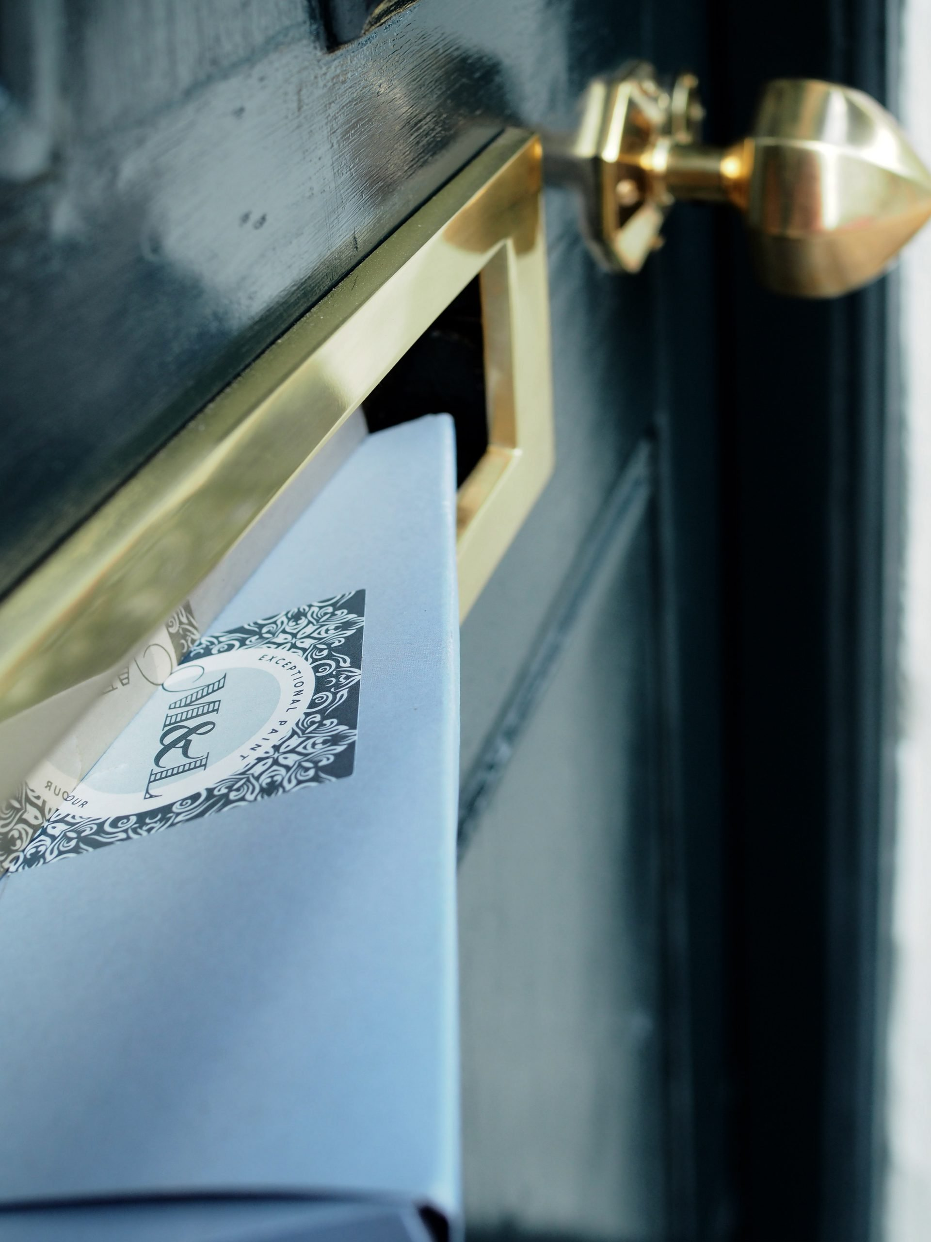 How to Paint a Panelled Front Door For A Perfect Finish