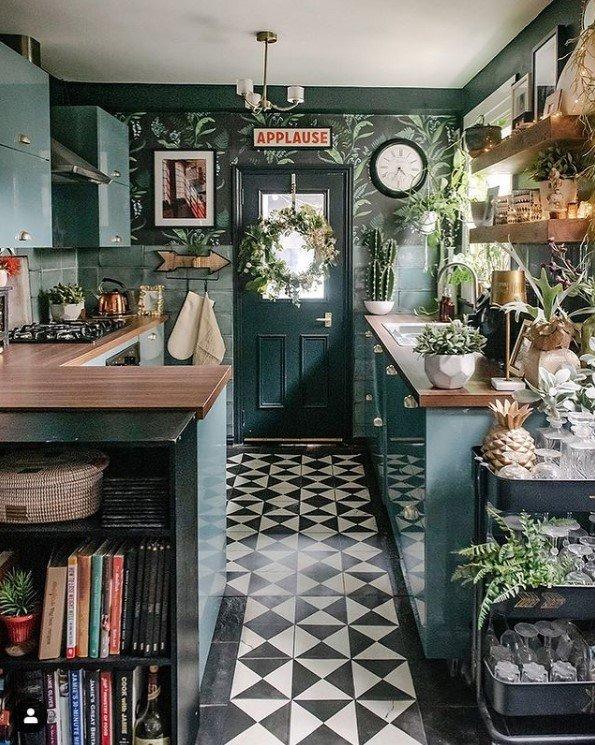 Layered Home's stunning kitchen