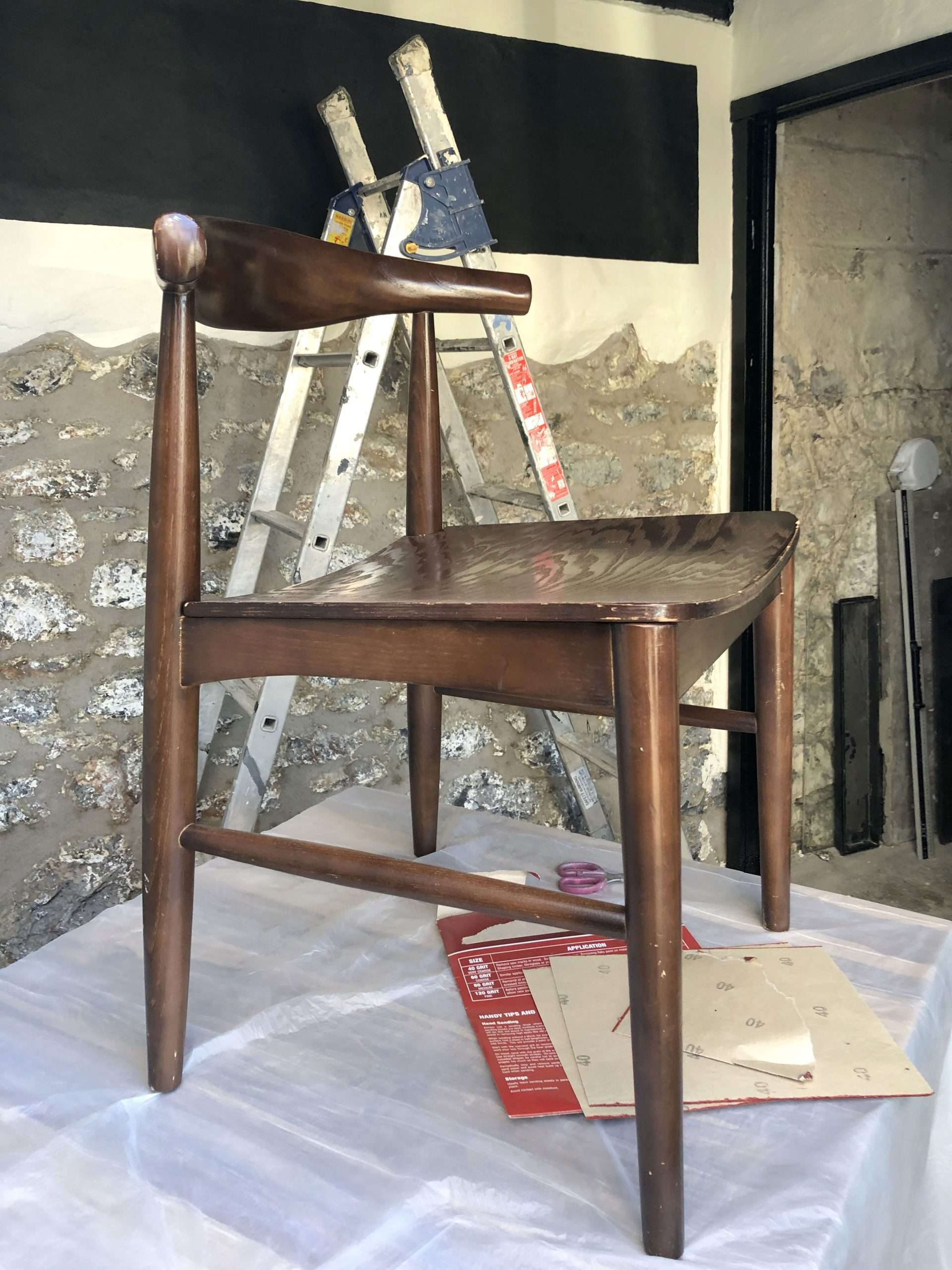 How To Upcycle A Mid Century Dining Chair