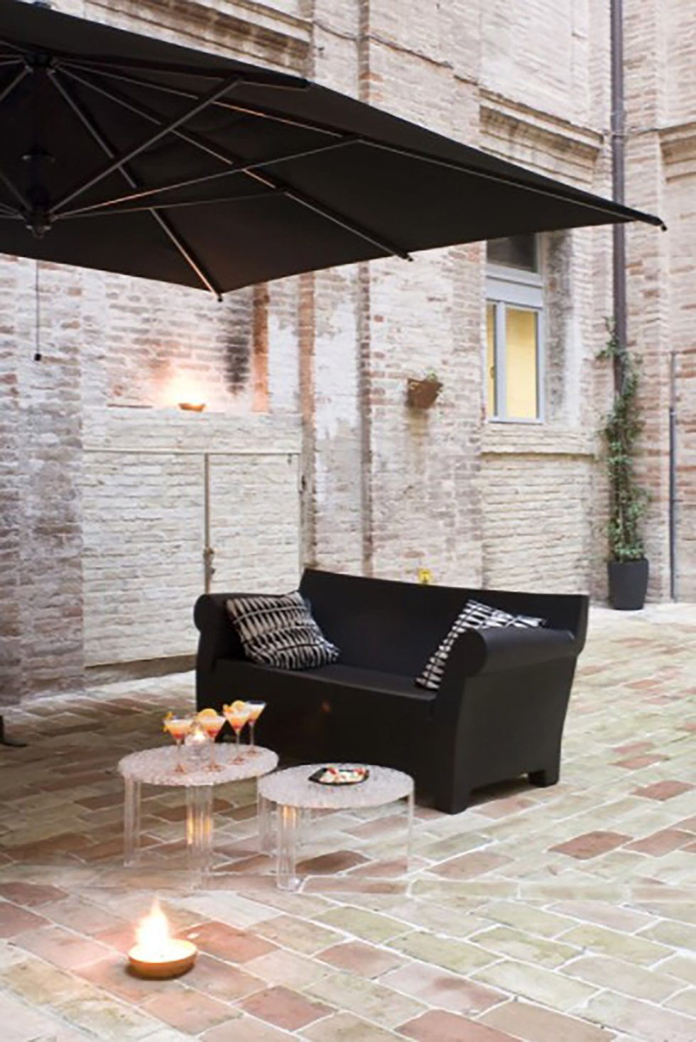 Bubble 2 seater sofa from Kartell