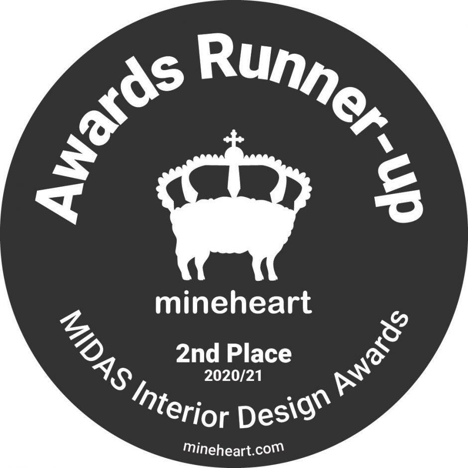 Runner Up In The Mineheart Interior Design Awards